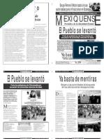 Versión impresa del periódico El mexiquense 11 marzo 2013