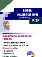 Discourse Analysis Genres