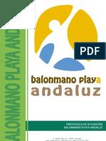 Protocolo de Actuacion Balonmano Playa 2013