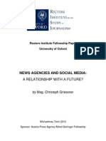 News Agencies and Social Media - A Relationship With a Future?