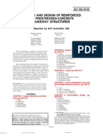 ACI 358.1R-92 - Analysys and Design of Reinforced Concrete Guideway Structures