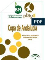 Copa de Andalucia Bm Playa 2012