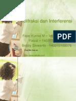Difraksi Dan Interferensi