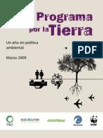 Un Programa por la Tierra 2009