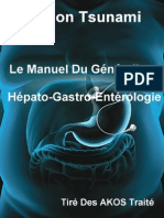Le Manuel Du Généraliste - Hépato-Gastro-Entérologie