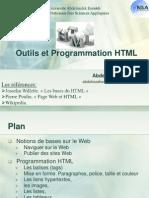 Outils Et Programmation HTML