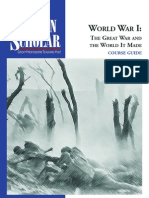 World War 1 Lecture Notes