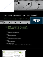 Is DRM Doomed to Failure?