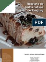 Recetario de frutos nativos del Uruguay