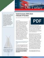 Turkish Economy 2000-2010