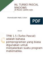 Manual Turbo Pascal for Windows (1)
