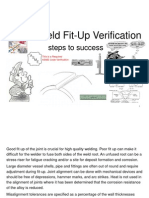 Weld Fit-Up Inspection Employee Training