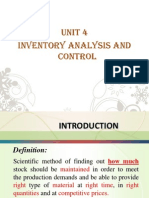 Unit 4. Inventory analysis and Control.ppt