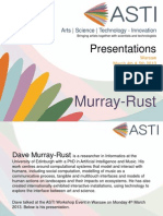 ASTI Presentations - Dave Murray-Rust