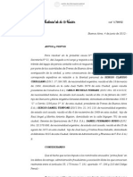 Detención de autoridades de TBA por ocultamiento de documentación para la pericia - 4Jun2012