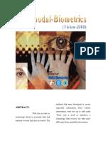 Multimodal Biometrics