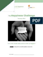 The Happiness Challenge Workbook Updated