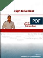 Chris Howard-Breakthrough to Success-Workbook