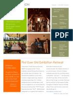 exhibition newsletter  week 1