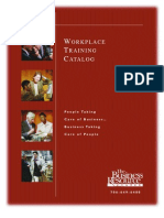 Workforce Training Catalog