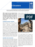 7Disaster Risk Reduction - Gender