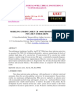 Modeling and Simulation of Modified Sine Pwm Vsi Fed Induction Motor Drive