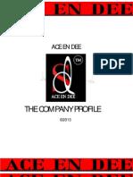 Company Profile Ace en Dee