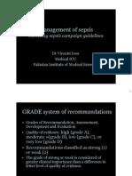 Surviving Sepsis Campaign Guidelines