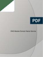 DNS Module Domain Name Service