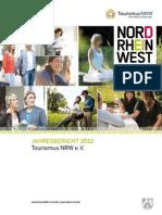 Jahresbericht 2012 - Tourismus in Nordrhein-Westfalen