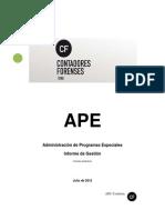 APE Informe Extenso