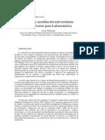 Calidad y Acreditacion Universitarias Latinoamericanas Para Latinoamerica