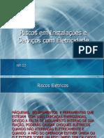 02 - Riscos em Instalações e Serviços com Eletrecidade - 4h.ppt