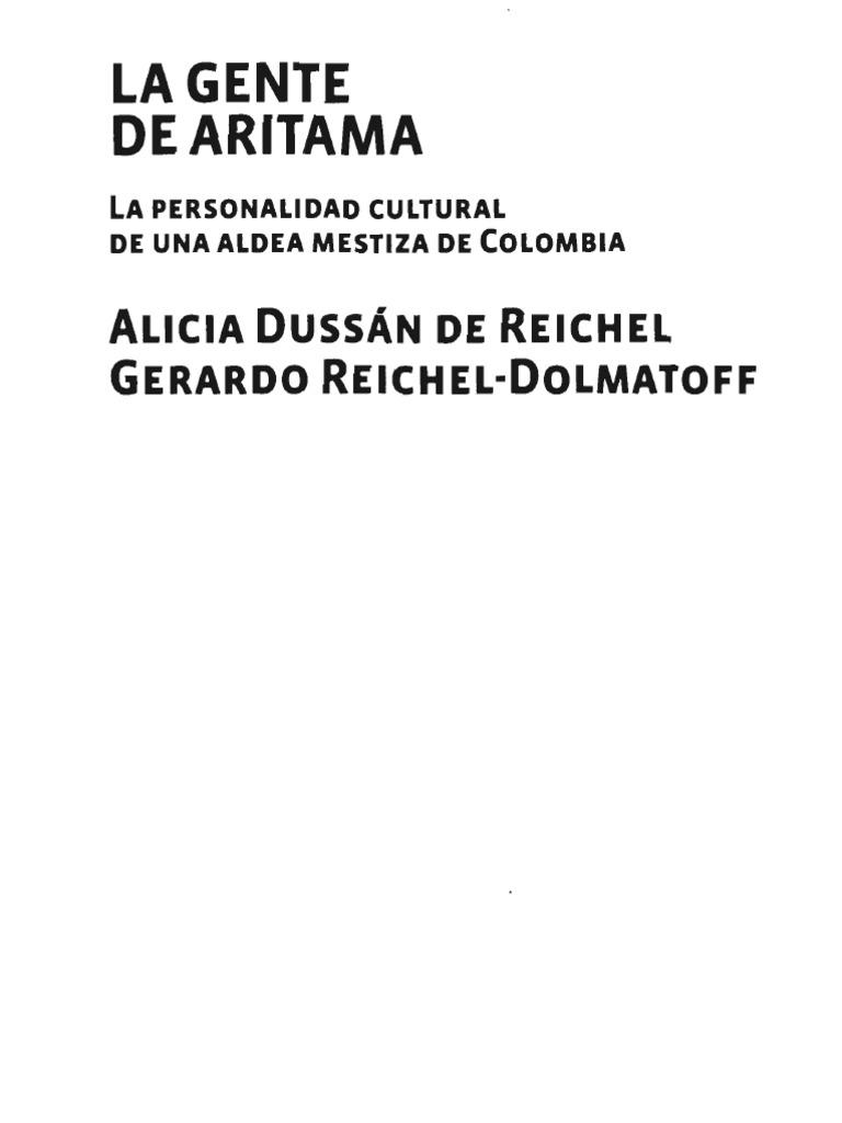 Dolmatoff - La Gente de Aritama