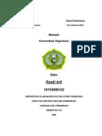 makalah komunikasi organisasi