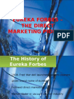 Eureka Forbes the Direct Marketing Pioneer