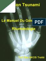 Le Manuel Du Généraliste - Rhumatologie