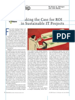 ERM0969 Making the Case for ROI in Sustainable IT Projects
