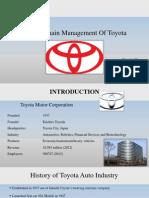 Toyota SCM