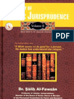 A Summary of Islamic Jurisprudence Vol 2