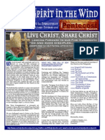 Spirit in the Wind - October - November - Official Newsletter of Pentecost