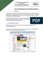 Manual Peticionamento Eletronico Iniciais