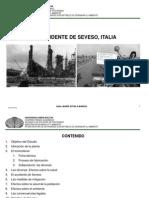 El Accidente de Seveso, Italia