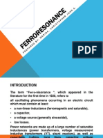 Ferroresonance Report