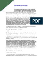 UNA FORMA DE IMPARTIR HISTORIA DE LA FILOSOFÍA