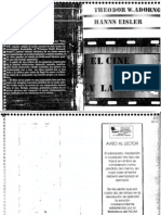 Adorno Theodor - El Cine Y La Musica