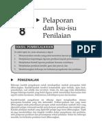 Topik 8 Pelaporan Dan Isu-Isu Penilaian