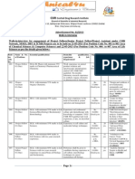 Notification CDRI Projectstaff Posts