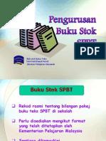 Pengurusan Buku Stok Spbt
