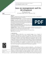 Grassl Aquinas on Management and Its Development
